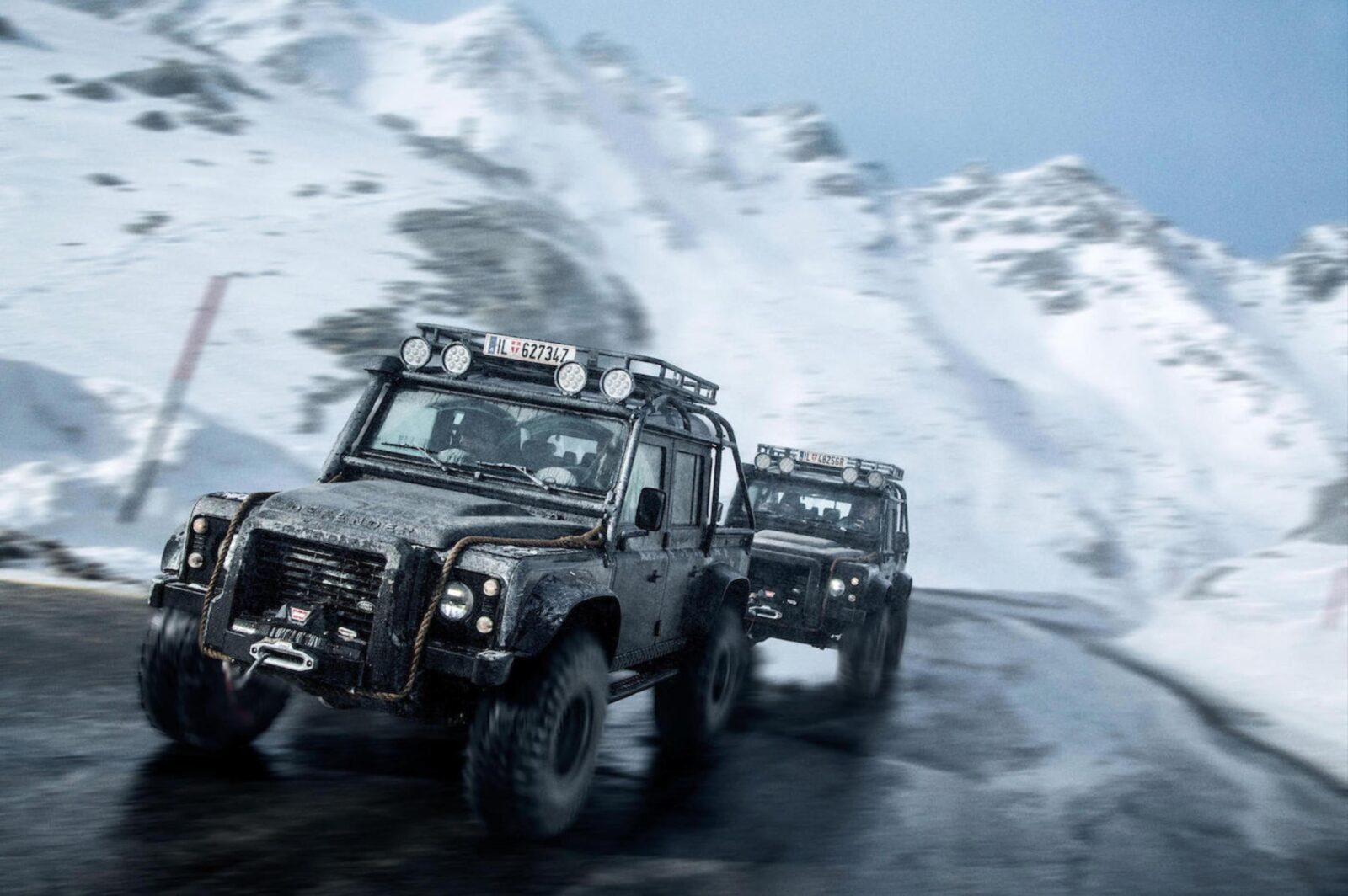 James Bond Land Rover Defender