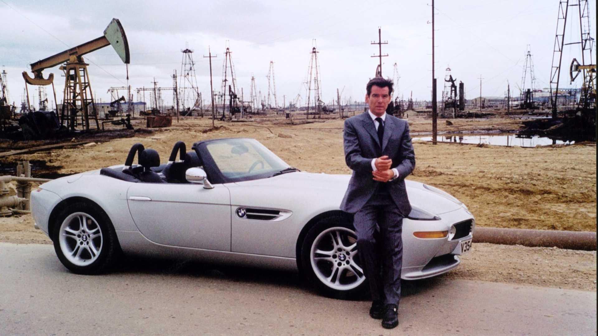 James Bond Cars BMW z8