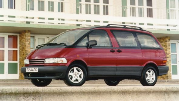 Toyota-Previa - The King Of The Mid-Engine Cars?