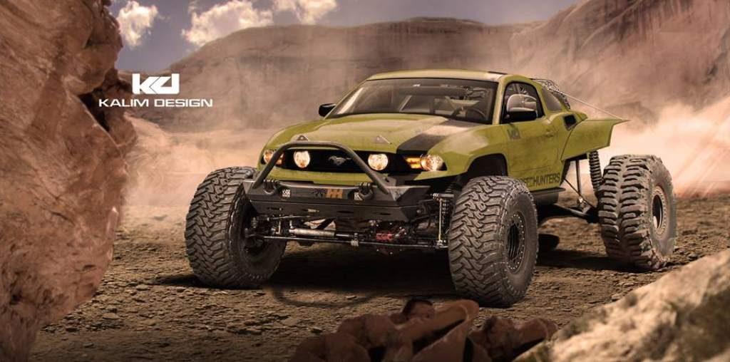 Kalim Design Baja Mustang Render