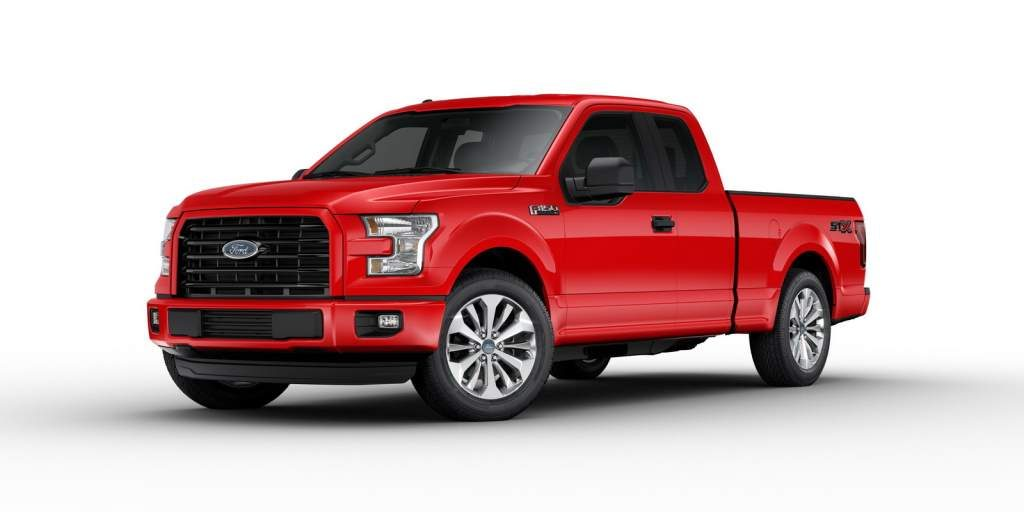2017 ford f 150 stx front 3/4