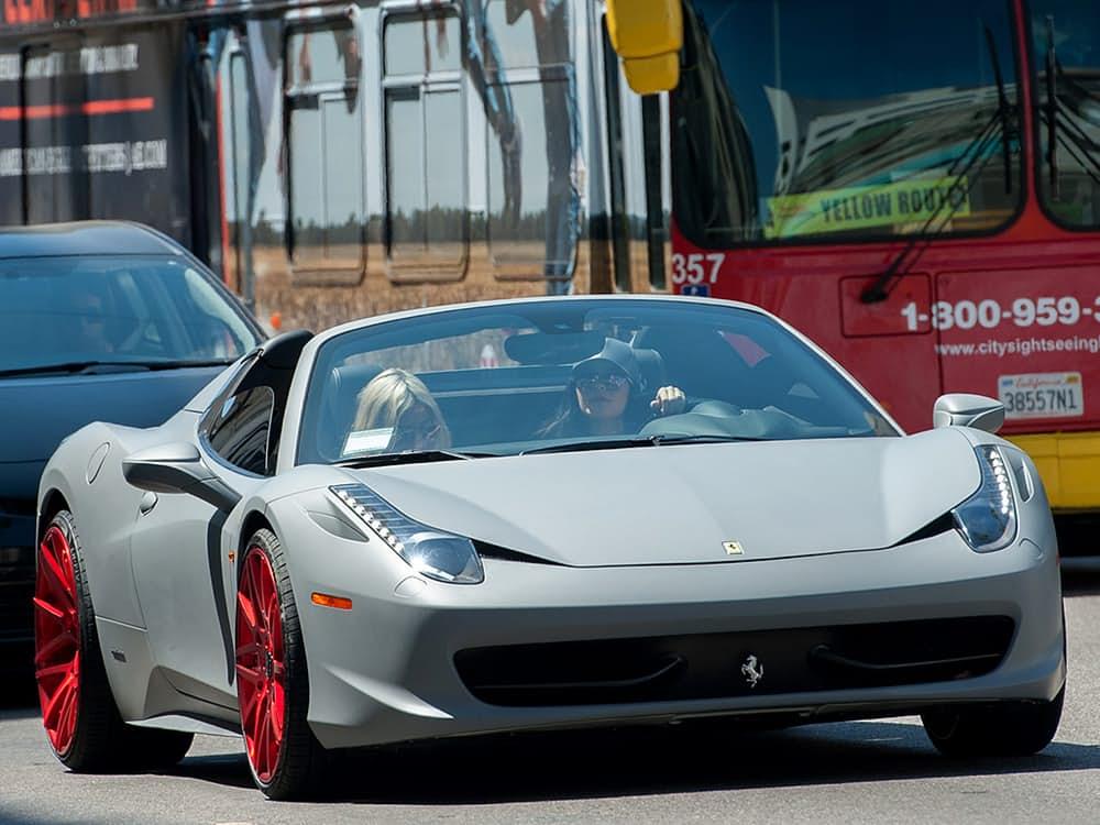 Kylie Jenner's Ferrari 458 Italia