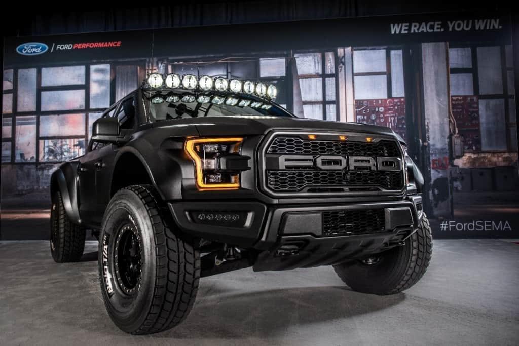 Custom Pickup Trucks & Concept Trucks - 2017-ford-f-150-raptor-by-deberti-design-sema-2016-02-1024x683