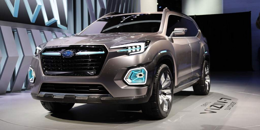 Subaru Viziv 7 Concept Front 3/4