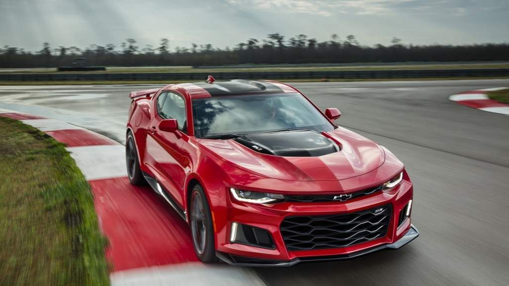 Camaro ZL1 Top Speed Recorded Front 3/4