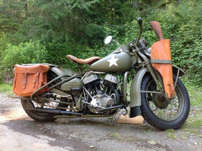 Harley Davidson Military Motorcycles