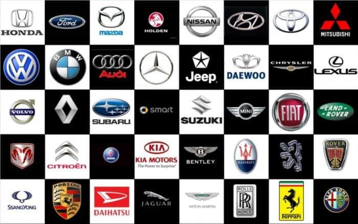 Best car brands Brands Companies Logos