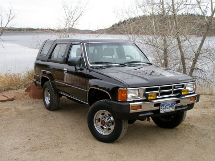 best classic 4x4 suvs of all time toyota 4Runner