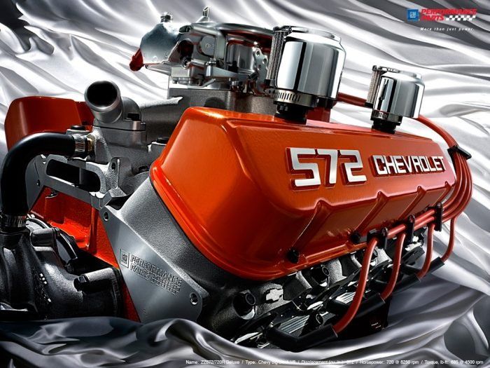 572 Chevrolet Engine