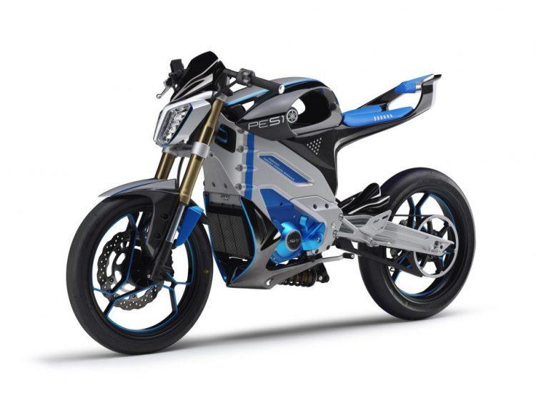 PES2 Yamaha Electric Motorcycle 2