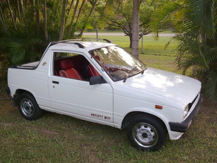 Suzuki Mighty Boy Side View