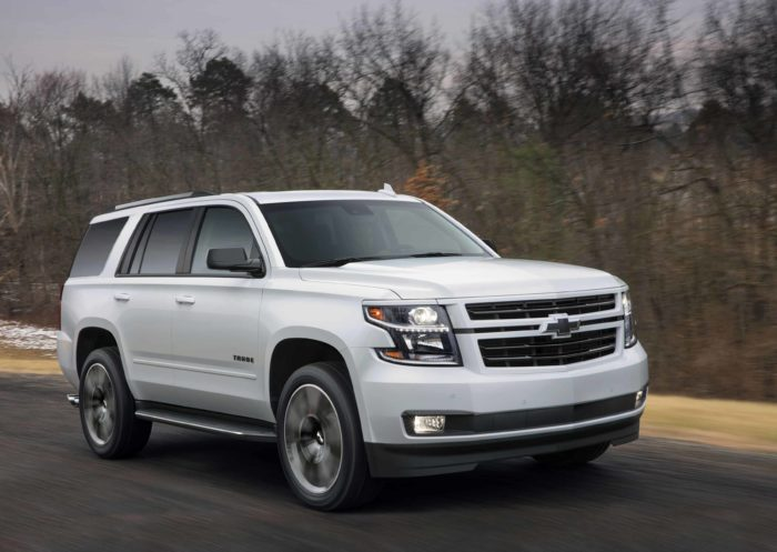 2018 Chevrolet Tahoe In Motion