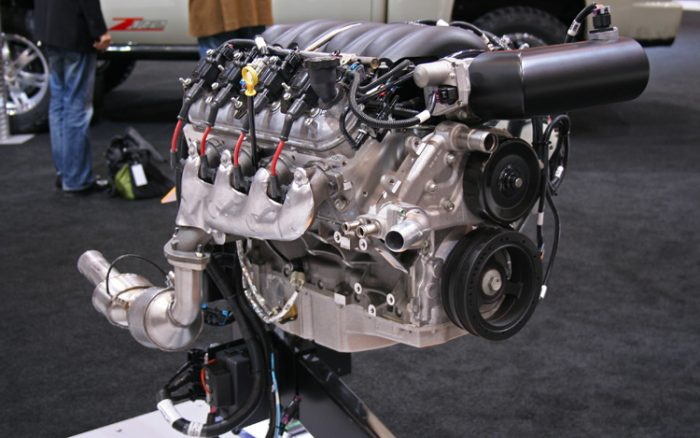 Another image of the LS3 engine