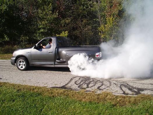 ford lightning burnout 35