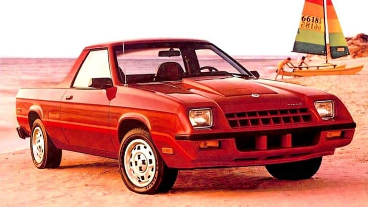 Plymouth Classic Cars - 1983 Plymouth Scamp