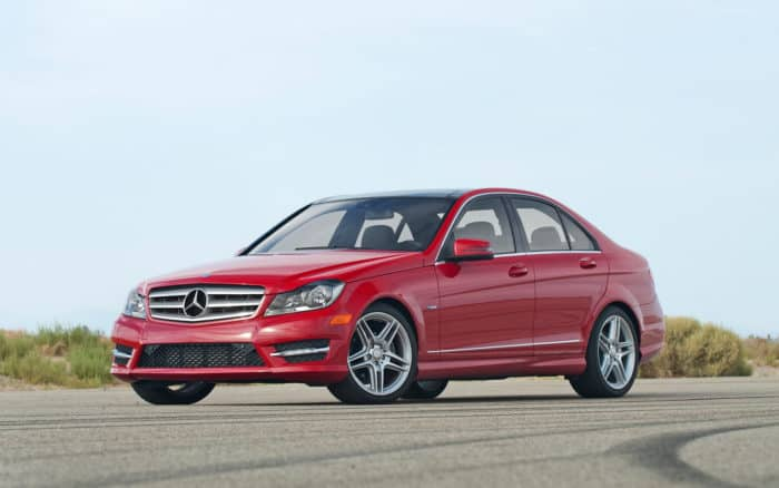 Our list of cheap luxury cars includes the 2012 Mercedes-Benz C250