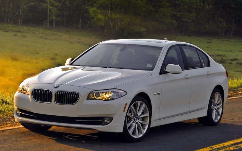 2010 BMW 5 Series Front 3/4