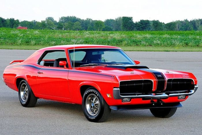 Rare American Muscle Cars - Cougar Eliminator
