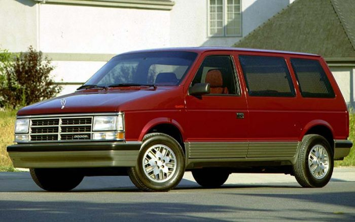 The Dodge Caravan Turbo is one of the best used minivans available