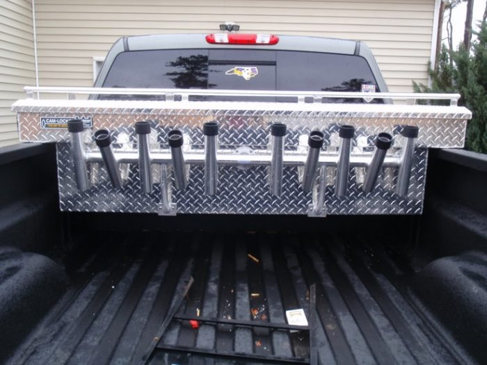 Custom truck accessories tool stand