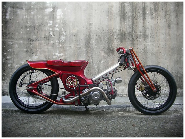 Custom Moped - The Redman '59 by AFS Taiwan