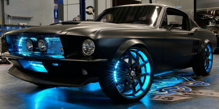 neon underglow lighting is one of many illegal car mods