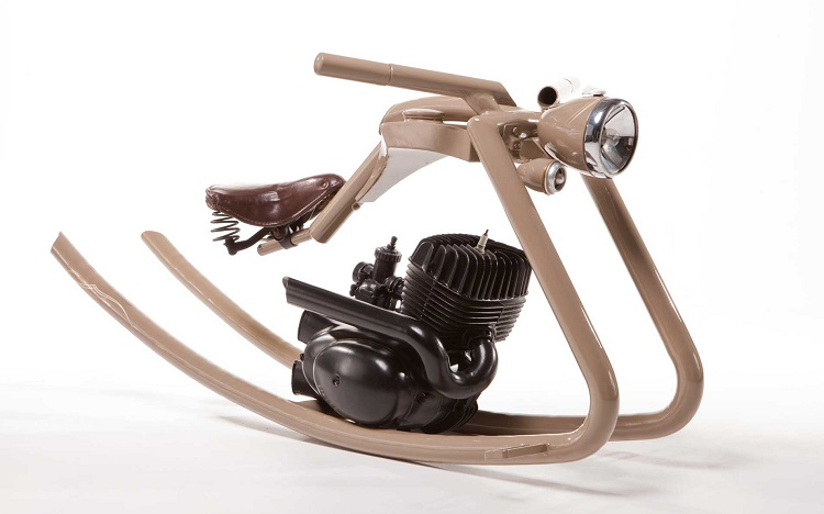Upcycled Motorcycle parts