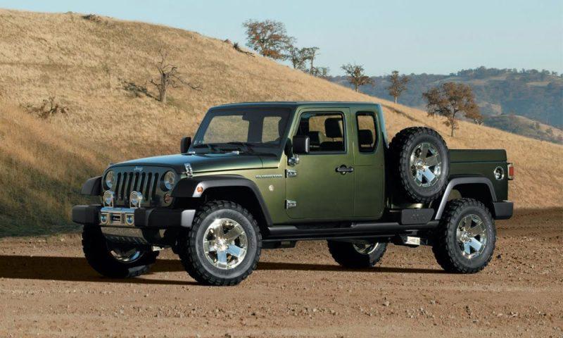 Best New Cars 2019 - 2019 Jeep Wrangler pickup rendering