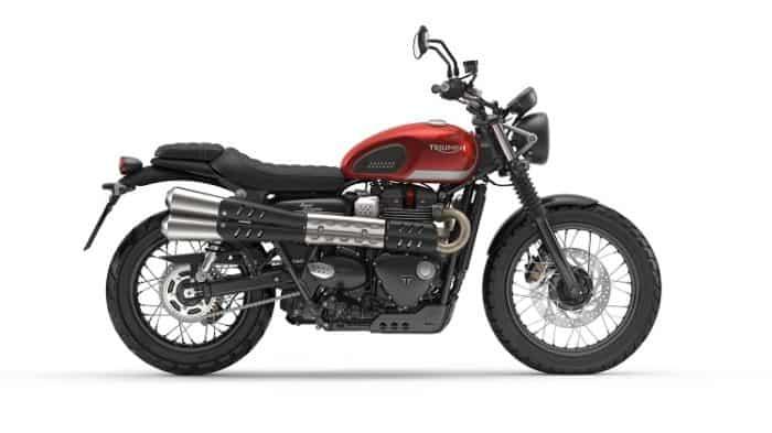Scrambler Motorcycle - Triumph Street Scrambler