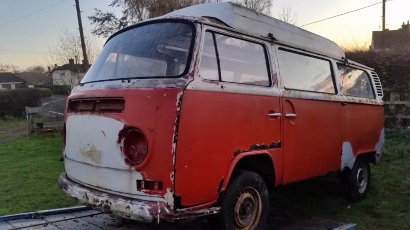 Volkswagen Type 2 Barn Find