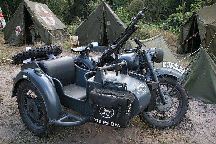 Military Sidecar Model