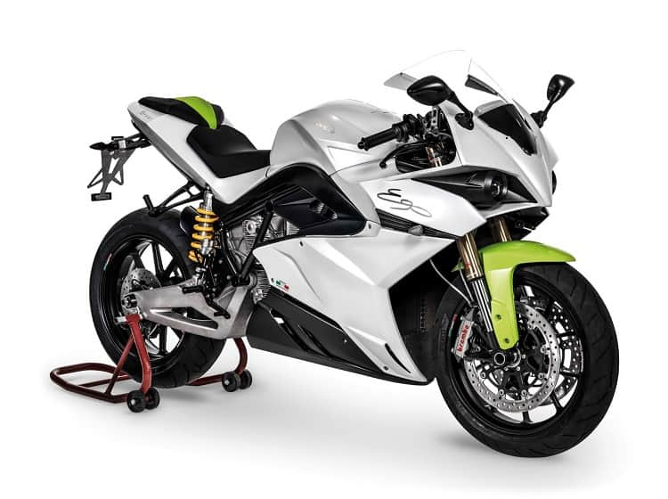 Energica Ego Side View