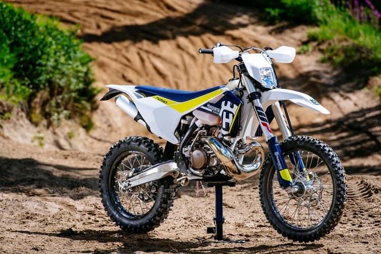 A Husqvarna 250cc Dirt Bike