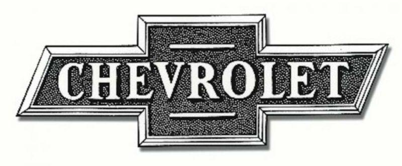 Chevy Emblem original