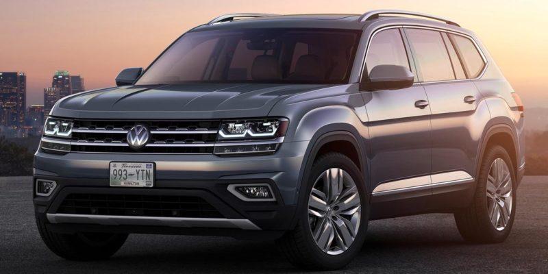 2018- Volkswagen Atlas