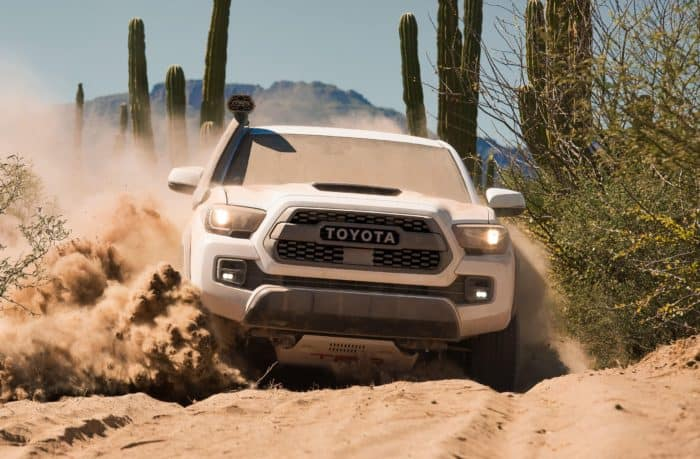 Toyota TRD Pro in action