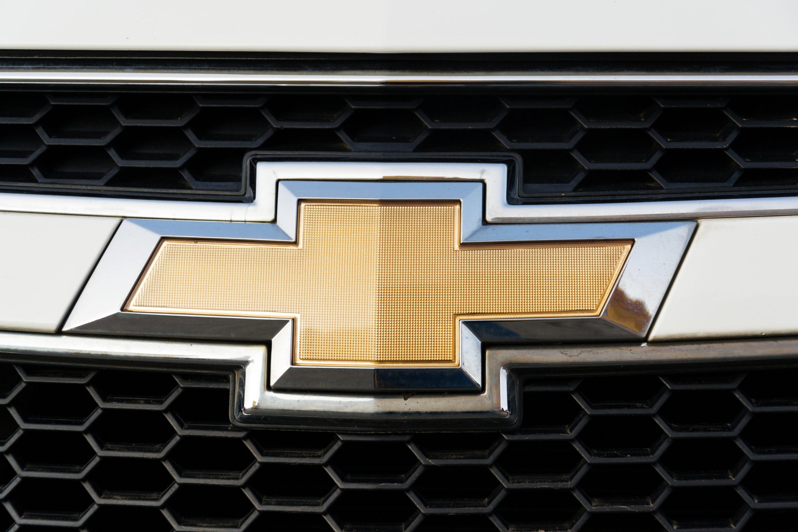 Chevy logo gold
