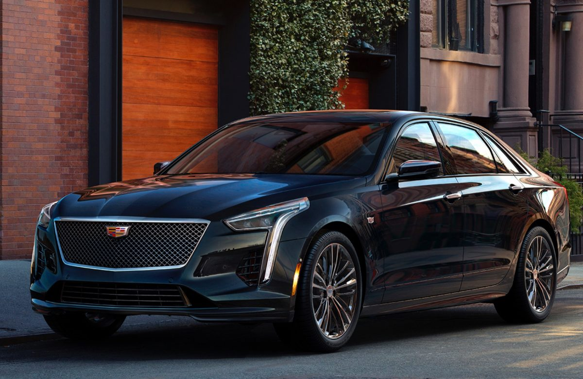 New Cadillace Models - 2019 Cadillac CT6 V-Sport 3/4 view