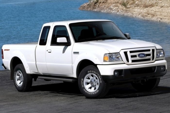 2010-Ford-Ranger Is A Great Cheap Used Truck