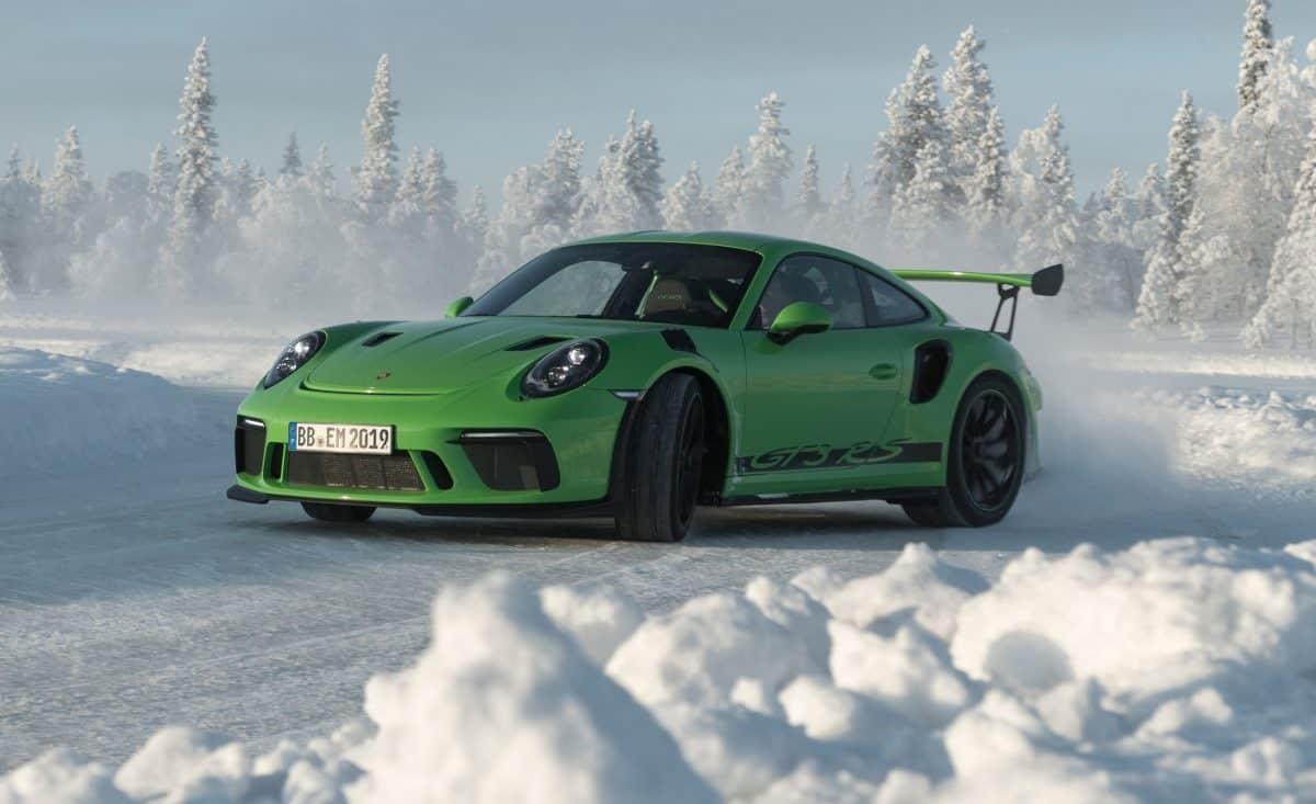 Porsche Lineup 2019 - 2019 Porsche 911 GT3 RS 3/4 view