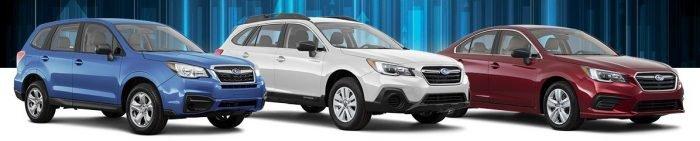 Subaru Lineup - models