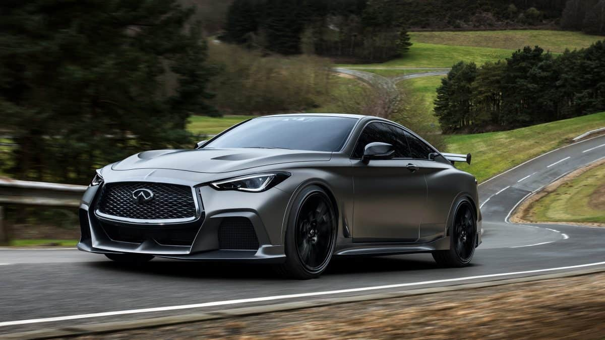 2019 New Infiniti Project Black S previews the 2020 Infiniti Q60 Black S Coupe