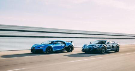 highest horsepower cars - bugatti and rimac