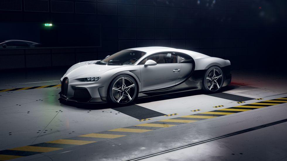 Bugatti Chiron Super Sport - highest horsepower cars