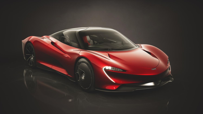 McLaren Speedtail - highest horsepower cars