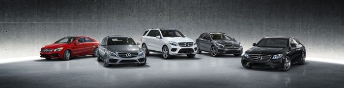 Mercedes-Benz car lineup