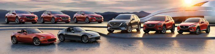 Mazda car lineup