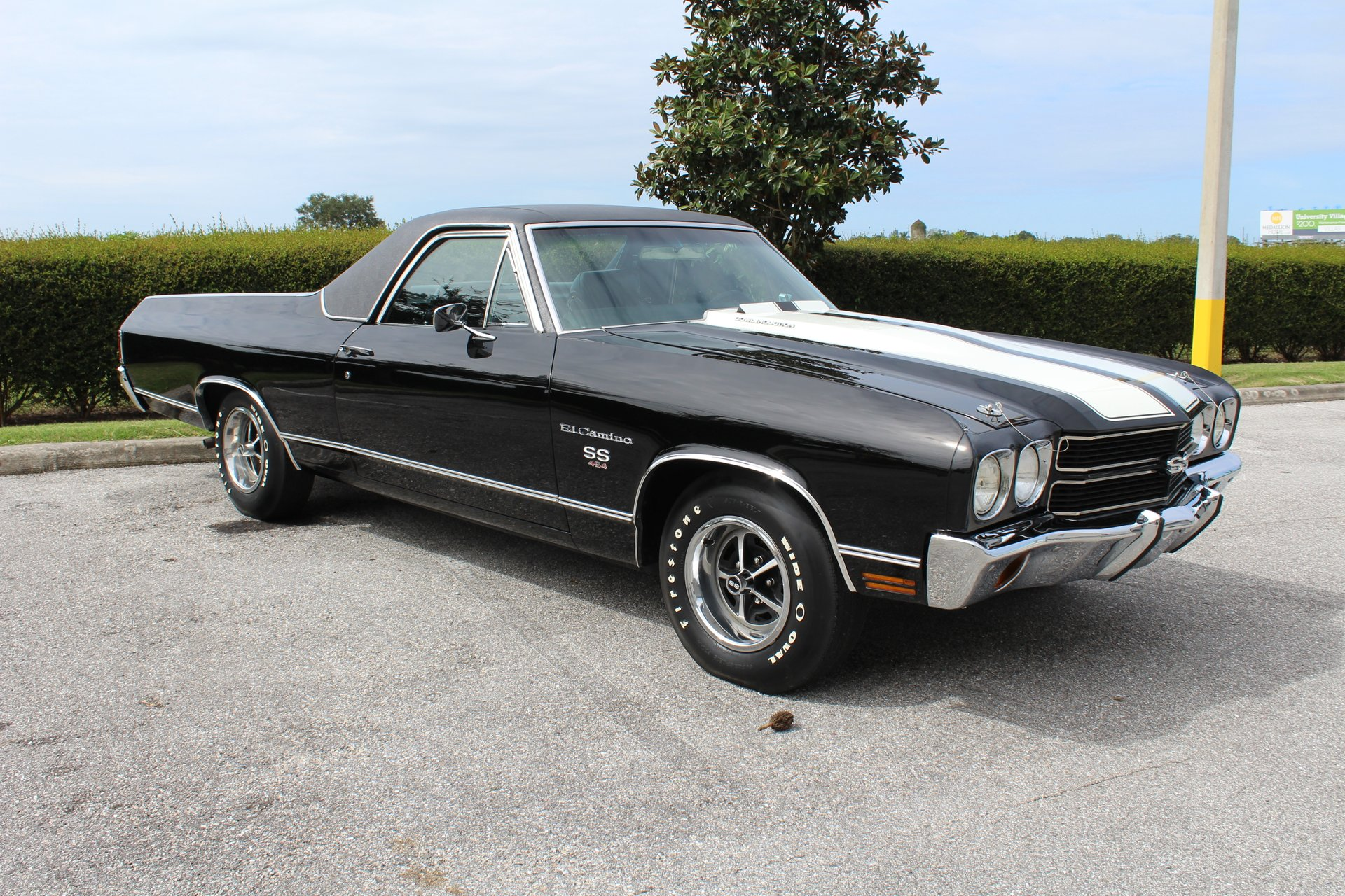 old-school muscle cars:1970 Chevy El Camino SS 454 LS6
