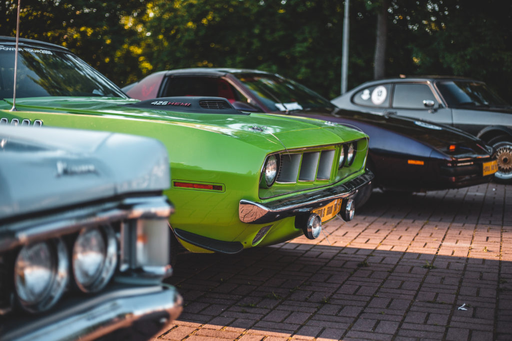 old-school muscle cars