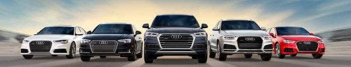 Audi car lineup